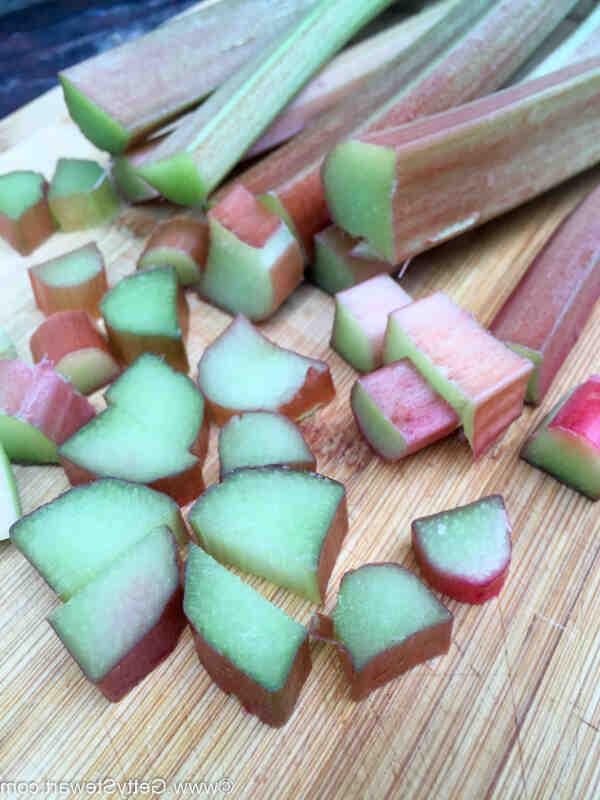 Comment congeler de la rhubarbe