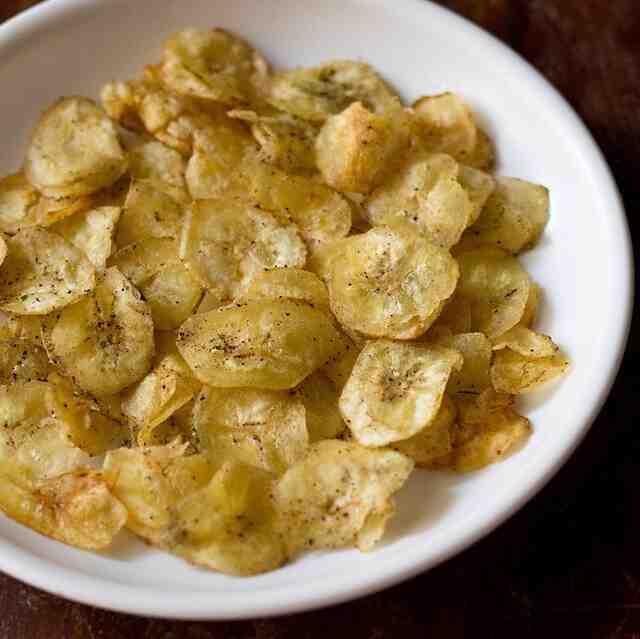 Comment faire des chips de bananes