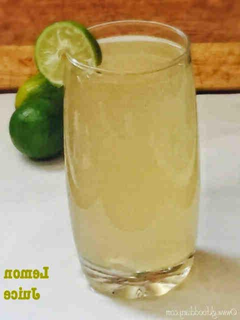 Comment faire du jus de citron