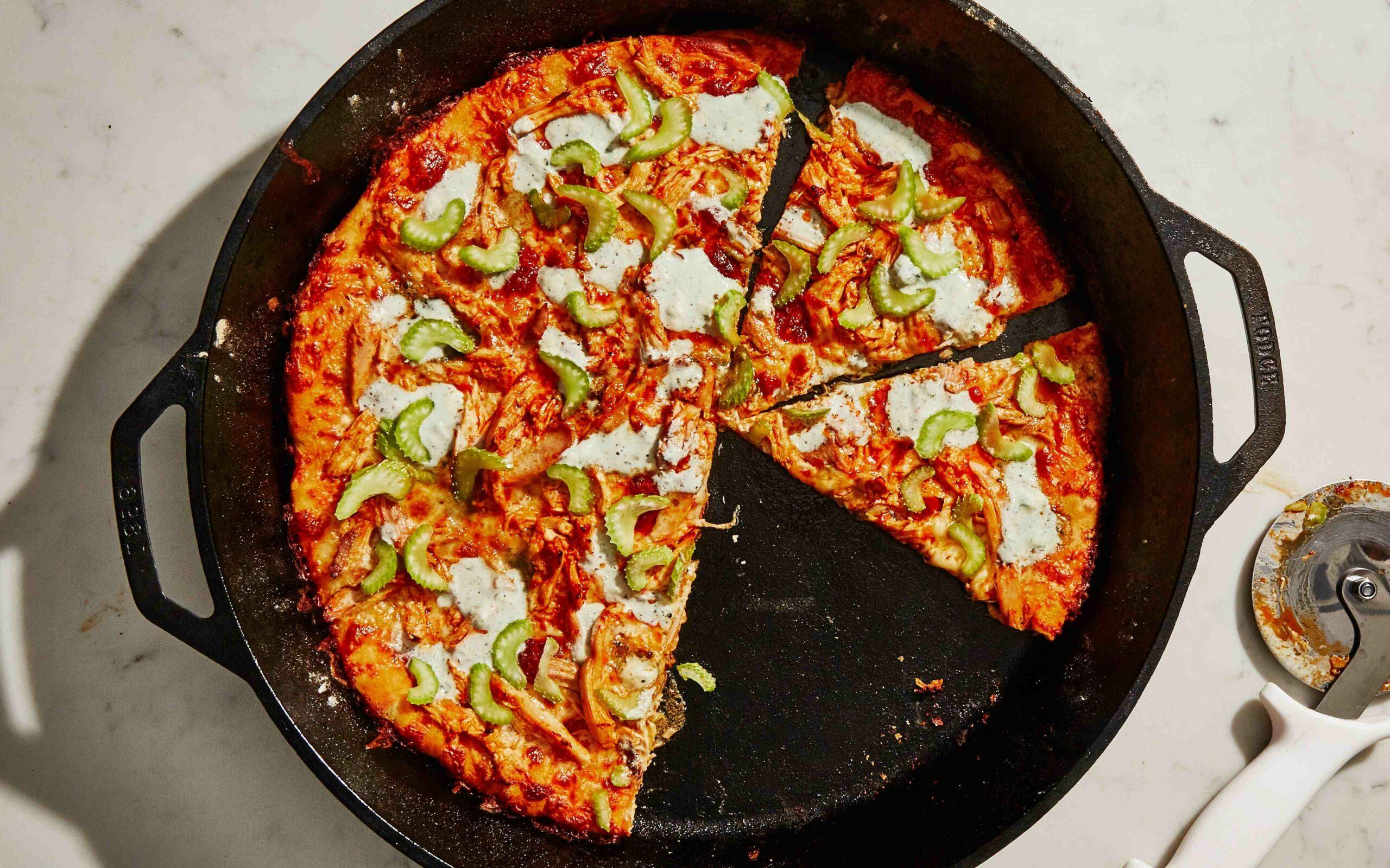 Comment faire une pizza américaine au poulet
