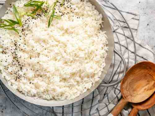 Comment préparer du riz au jasmin